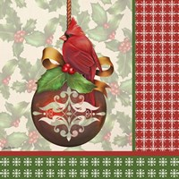 Holly & Berries 3 Fine Art Print