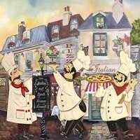 Italian Chefs II Fine Art Print