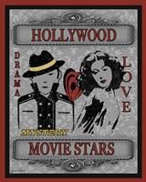 Movie Night II Framed Print