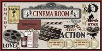 Cinema Room Fine Art Print