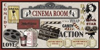 Cinema Room Fine Art Print