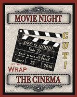 Movie Night - Light I Fine Art Print
