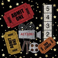 Home Movie III Fine Art Print