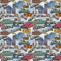 Route 66 - Cars I Fine Art Print