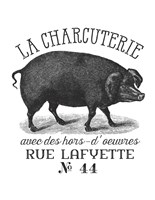 French Pig Fine Art Print