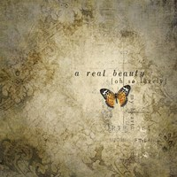 Real Beauty Butterfly Fine Art Print