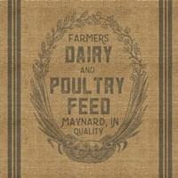 Farmers Dairy Framed Print