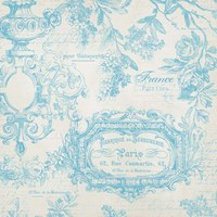 French Blue Fine Art Print