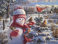 Snow Baby Grace Fine Art Print