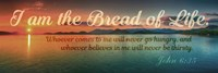 John 6:35 I am the Bread of Life (Sunset) Fine Art Print