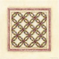 Circle Patchwork Fine Art Print