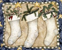 Christmas Stockings Fine Art Print