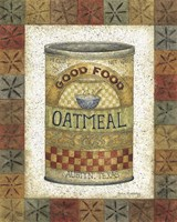 Good Food Oatmeal Fine Art Print