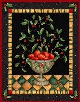 Apples In Dish Framed Print