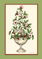 Holly Tree Topiary Fine Art Print