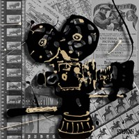Movie Camera 1 Fine Art Print
