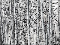 Winter Aspens Fine Art Print