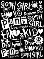 Subculture Girl Fine Art Print
