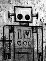 Boy Robot Fine Art Print