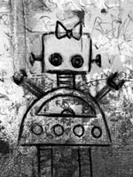 Girl Robot Fine Art Print