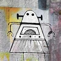 Girly Robot Fine Art Print
