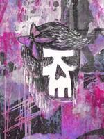 Girly Skull Princess Fine Art Print