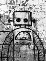 Graffiti Robot Fine Art Print