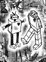 Robot Love Fine Art Print