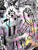 Robot Love Color Fine Art Print
