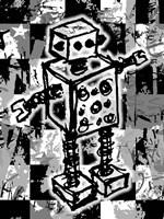 Sketched Robot Fine Art Print