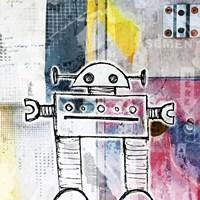 Small Bot Fine Art Print