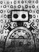 Urban Robot Fine Art Print
