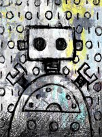 Urban Robot Color Fine Art Print