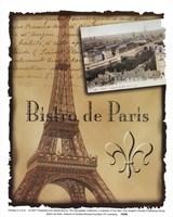 Bistro De Paris Fine Art Print