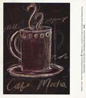Mocha Sketch Fine Art Print