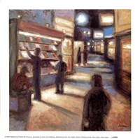 News Stand (Art Dreams) Fine Art Print
