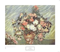 Pink & White Roses Fine Art Print