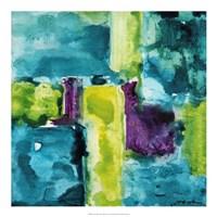 Color Block II Framed Print