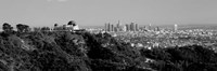 Griffith Park Observatory, Los Angeles, California BW Fine Art Print