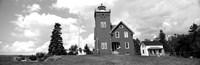 Two Harbors Lighthouse on Lake Superior's Agate Bay, Burlington Bay, Minnesota Fine Art Print