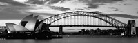 Sydney Harbour Bridge At Sunset, Sydney, Australia Fine Art Print