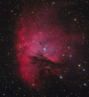 NGC 281, the Pacman Nebula Fine Art Print