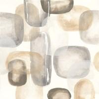 Neutral Stones II Framed Print