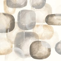 Neutral Stones III Fine Art Print