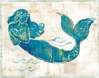 On the Waves II Framed Print