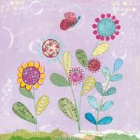 Pattys Garden I Fine Art Print