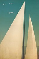 Sails I Framed Print