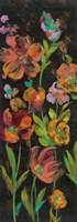 July Garden Trio II Framed Print