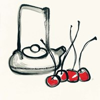 Tea and Cherries Fine Art Print