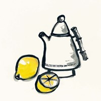 Tea and Lemons Fine Art Print
